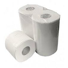 EcoPaper Budget Toiletpapier 400 vel | wit | 2-laags | super tissue (baal 10 x 4 rol)