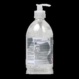 Premium Ethades+ Handdesinfectie Gel (pompflacon 500 ml)