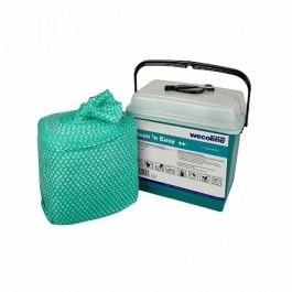 Wecoline Clean 'n Easy Desinfectiedoeken 1% Waterstofperoxide & 1% Melkzuur (dispenseremmer 150 stuks)