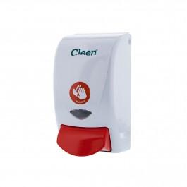 Cleen Wash&Care Zeepdispenser Desinfect | HACCP | Foam | 1000 ml | kleur wit/rood