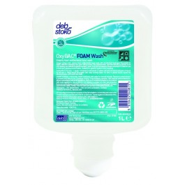 DEB OxyBac Foam Wash Antibacteriële Schuimzeep (flacon 1000 ml)