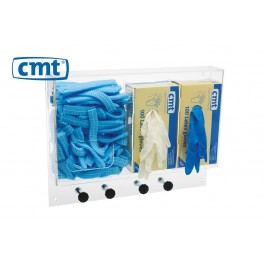 CMT Acryl Wandhouder/Multidispenser voor diverse disposables