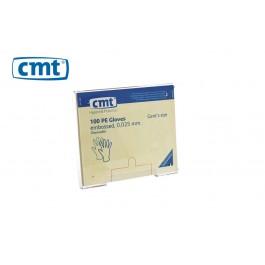 CMT Acryl Wandhouder/Dispenser voor PE tankhandschoenen