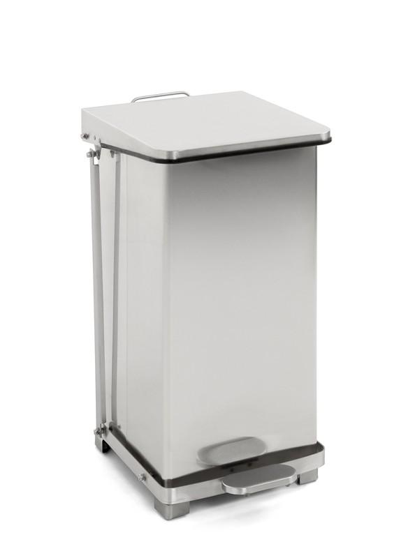 HACCP Afvalbak/Pedaalemmer Keuken 45 ltr, mat RVS