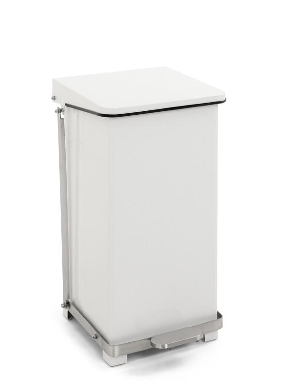 Top HACCP Afvalbak/Pedaalemmer Keuken 45 ltr, kleur wit RP58