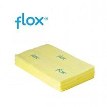 Flox Stofwisdoeken Premium 60 cm, kleur geel (doos 10 x 50 stuks)