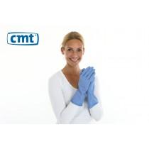 Huishoudhandschoenen, kleur blauw, maat XL (pak 12 paar)