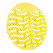 Urinoirmatten Lemon, kleur geel (doos 10 stuks)