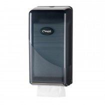 Cleen Pearl Toiletpapierdispenser | Bulkpack | kleur zwart