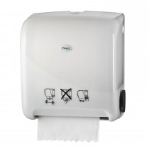 Cleen Pearl Rolhanddoekautomaat | Matic | Autocut | Manueel | kleur wit