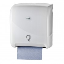 Cleen Pearl Rolhanddoekautomaat | Motion | Tear & Go | Sensor | kleur wit