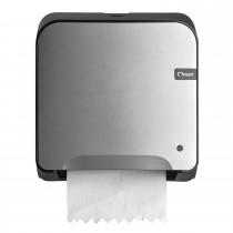 Cleen Quartz Rolhanddoekautomaat | Mini-Matic XL | kleur zilver/zwart