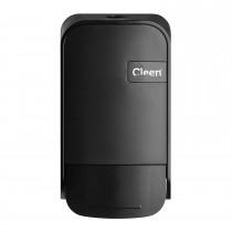 Cleen Quartz Zeepdispenser/Toiletbrilreiniger | Foam | 400 ml | kleur zwart