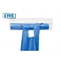 CMT Acryl Wandhouder/Dispenser voor schorten op rol