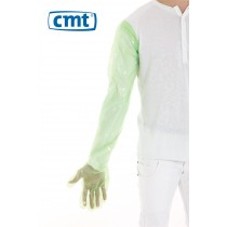 CMT Veterinaire Handschoenen LDPE 92 cm, kleur groen (dispenserdoos 100 stuks)