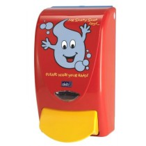 Deb Zeepdispenser Mr. Soapy Soap 1000 (rood)