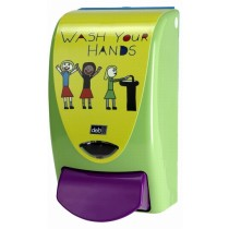 Deb Zeepdispenser Wash your hands 1000 (groen)