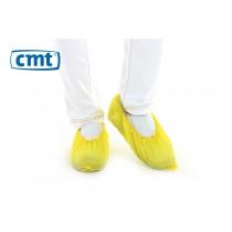 choenovertrekken CPE geruwd, kleur geel, 36 x 15 cm (L), doos 20 x 100 stuks