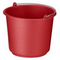 Emmer 12 ltr, kleur rood