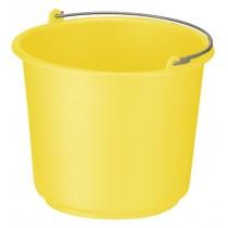 Emmer 12 ltr, kleur geel