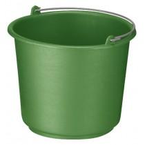 Emmer 12 ltr, kleur groen