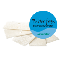 Vendor Everfresh Geurstrips Powder Fresh (doos 30 geurstrips)