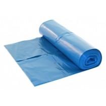 LDPE Containerzakken 65/25 x 140 cm (240 ltr) blauw T70 (doos 10 x 10 stuks)