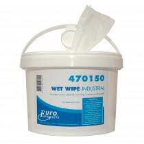 Euro Wet Wipes Industrial (doos 4 x 150 doeken)
