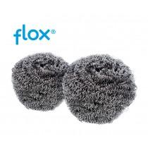 Flox RVS staalbolletje 60 gram (folie 10 stuks)