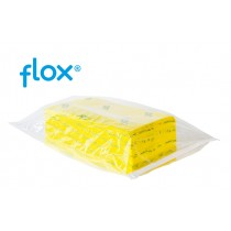 Flox Stofwisdoeken Heavy Duty 60 cm, kleur geel (doos 5 x 100 stuks)