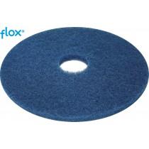 Flox Vloerpad 17 inch (432 mm), kleur blauw (doos 5 stuks)