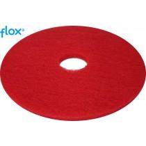 Flox Vloerpad 13 inch (330 mm), kleur rood (doos 5 stuks)