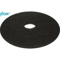 Flox vloerpad zwart 13 inch (doos 5 stuks)