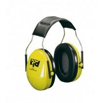 3M Peltor Gehoorkap Kid met hoofdbeugel SNR 27 dB(A), kleur neon geel