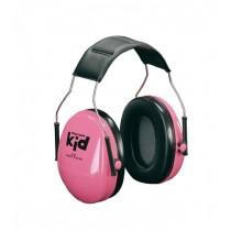 Gehoorkap 3M Peltor Kid met hoofdbeugel SNR 27 dB(A), kleur neon roze