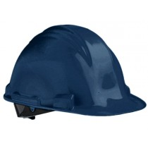M-Safe veiligheidshelm ABS MH6020, draaiknop verstelbaar 6-punts binnenwerk, kleur blauw