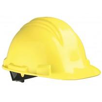 M-Safe Veiligheidshelm ABS MH6020, draaiknop verstelbaar 6-punts binnenwerk, kleur geel