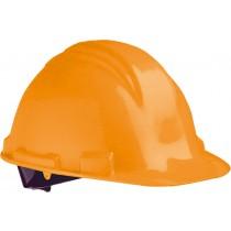 M-Safe veiligheidshelm PE MH6000, verstelbaar 6-punts binnenwerk, kleur oranje