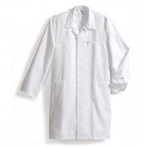 BP Food Jas / Laboratoriumjas lang model, kleur wit (maat S t/m XXL)