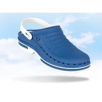Wock Clog hygiëne klomp, kleur midblauw/wit