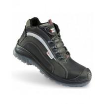 Werkschoenen Sixton Adamello hoog / zwart / grijs / S3 / mt 38-48