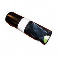 HDPE Afvalzakken met trekband 62 x 85 cm (60 ltr) zwart T25 (doos 20 x 20 stuks)