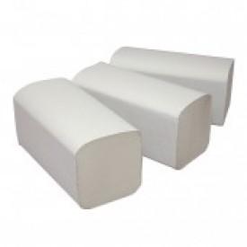 EcoPaper Premium Vouwhanddoeken ZZ-vouw Wit (doos 20 x 160 stuks)