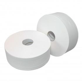 EcoPaper Premium Toiletpapier Maxi Jumbo | wit | 2-laags | tissue (baal 6 x 380 mtr)