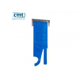 CMT RVS Wandhouder/Dispenser voor schorten op blok