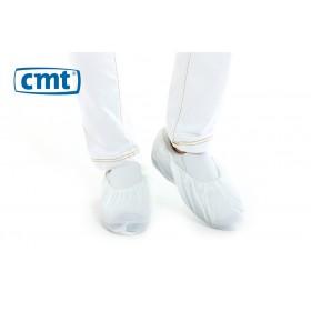 CMT Schoenovertrekken CPE geruwd, kleur wit, maat L (doos 20 x 100 stuks)