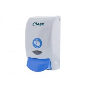 Cleen Wash&Care Zeepdispenser | Foam | 1000 ml | kleur wit/blauw