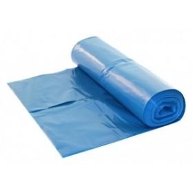 HDPE Afvalzakken 90 x 110 cm, blauw, T25 (doos 15 x 20 stuks)