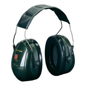 3M Peltor Gehoorkap Optime II met hoofdbeugel, kleur groen