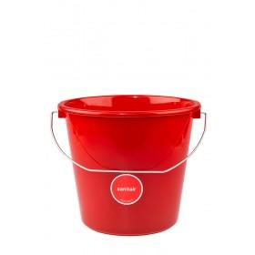 Sop Sopemmer Sanitair 5 ltr, kleur rood